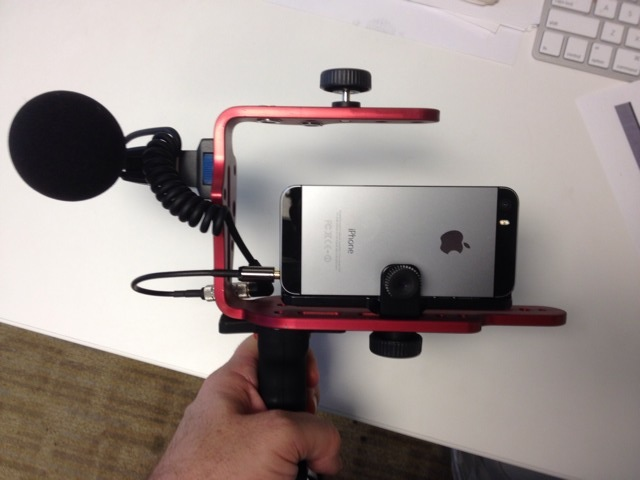 iphone filming rig my iphone 5s rig build for an upcoming mobile carrier 11839